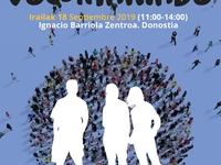 el 18 de Septiembre IV edición de la feria de voluntariado en Donostia