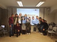 Visita de alumnado estadounidense a nuestros centros de Hernani