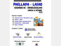 Encuentro entre todas las personas usuarias en la Comunidad Terapéutica de Lasao