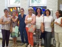 Visita de profesionales de  los Centros de Salud Mental de Andoain y Tolosa