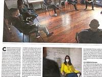 Reportaje sobre el confinamiento en nuestros centros en El Diario Vasco