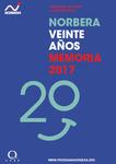 Memoria Norbera 2017 - 20 años